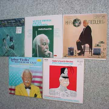 Arthur Fiedler Boston pops lot of 5 lp records