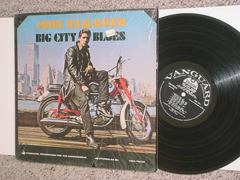John Hammond big city blues - and recordings for the Connoisseur 2 lp records Vanguard VRS- 9132 & VSD-79153 SEE ADD