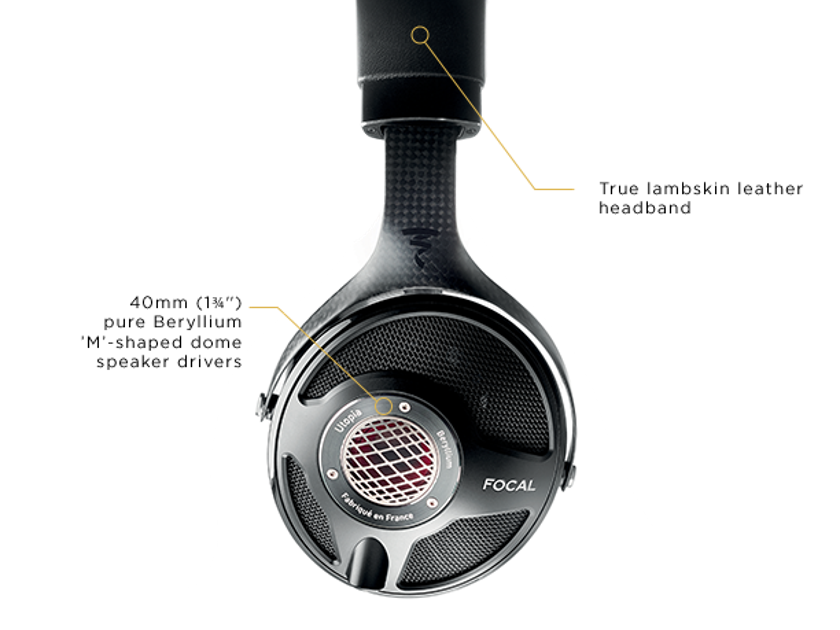Focal UTOPIA  Headphone NEW Factory Sealed **4 UNITS**