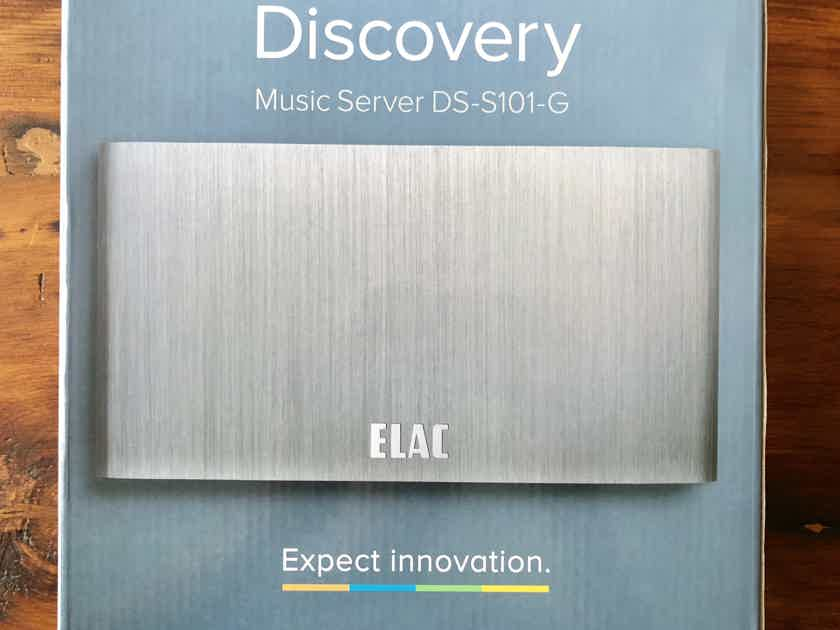 Music Server with DAC - Elac Discovery Series DS-S101-G