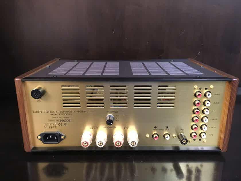 Leben Hi-Fi Stereo Co. CS300xs integrated amplifier