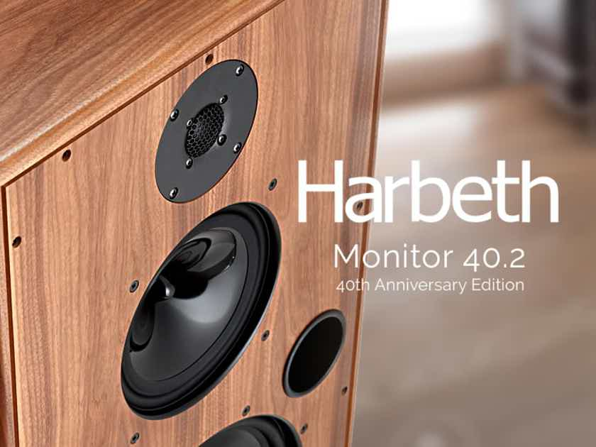 Harbeth Monitor 40.2 Speakers 40th Anniversary