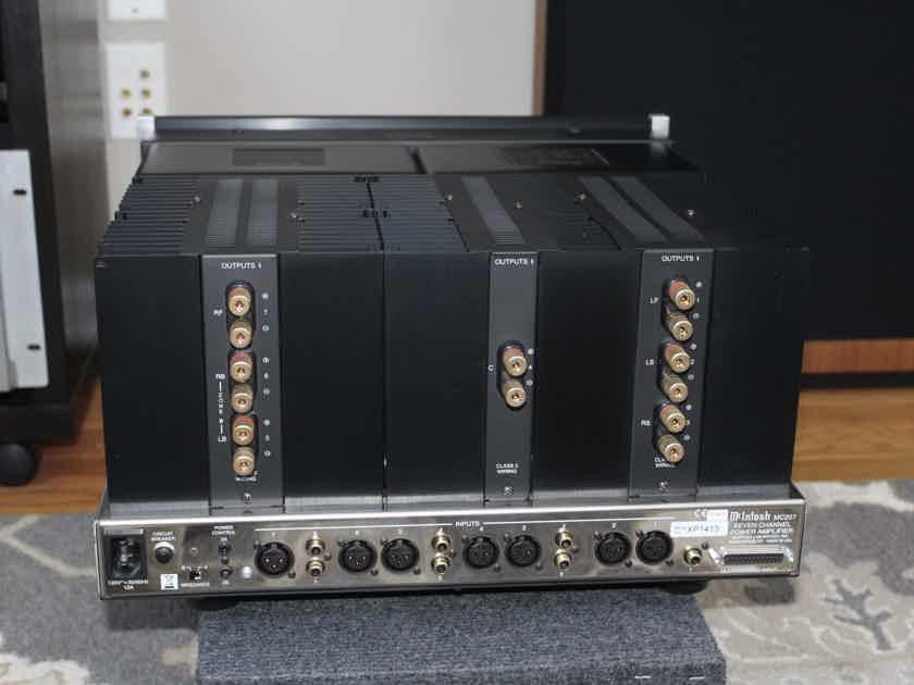 McIntosh MC207 seven channel amplifier TOP NOTCH MAC - FACTORY SHIPPING CARTON