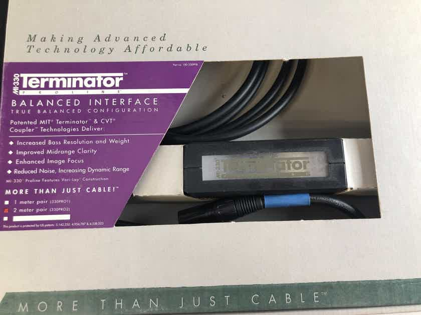 MIT MI-330 Terminator Balanced Interface XLR Cable - NEW IN BOX - 2M