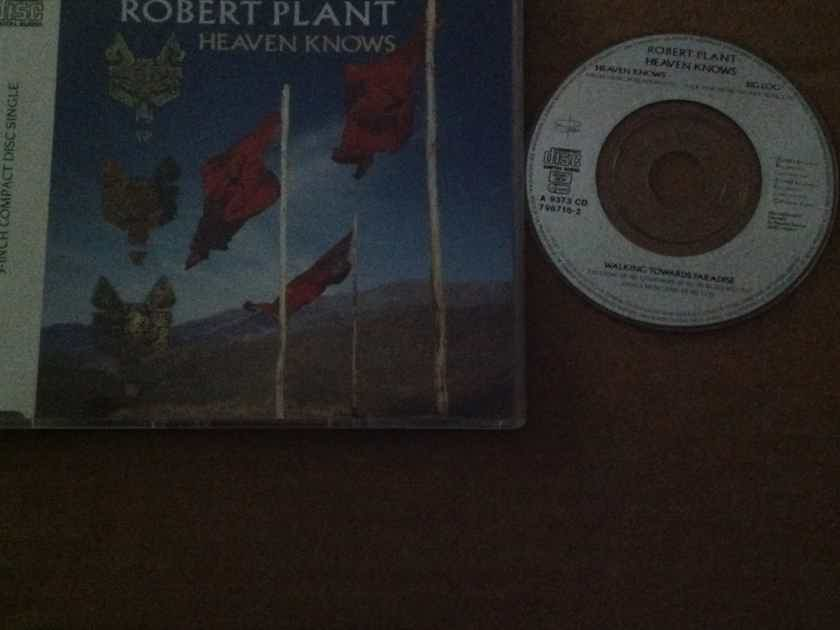 Robert Plant - Heaven Knows/Walking Towards Paradise/Big Log Import 3 Inch Compact Disc  EP Esperanza Records Germany