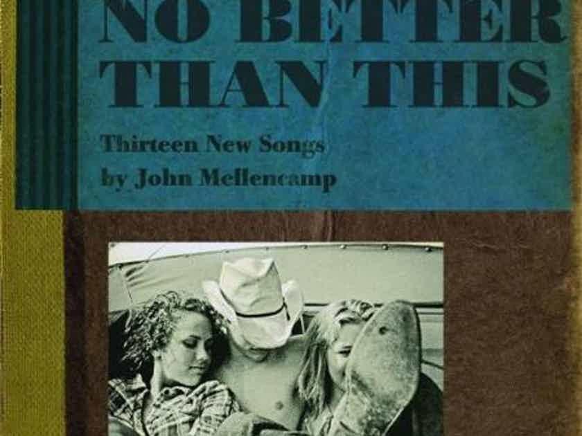 John Mellencamp No Better Than This, 2 LPs