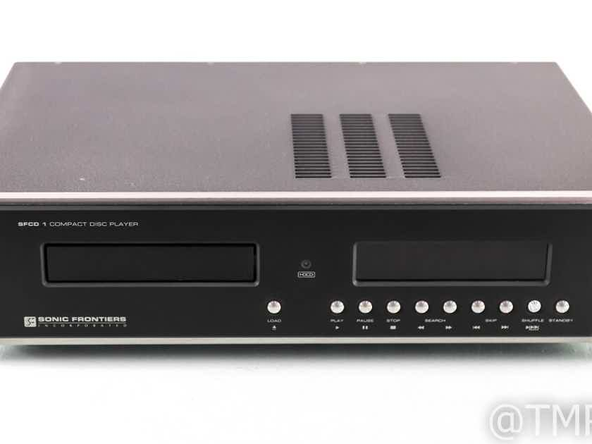 Sonic Frontiers SFCD 1 Vintage CD / HDCD Player; SFCD1; AS-IS (Power Issue) (21861)