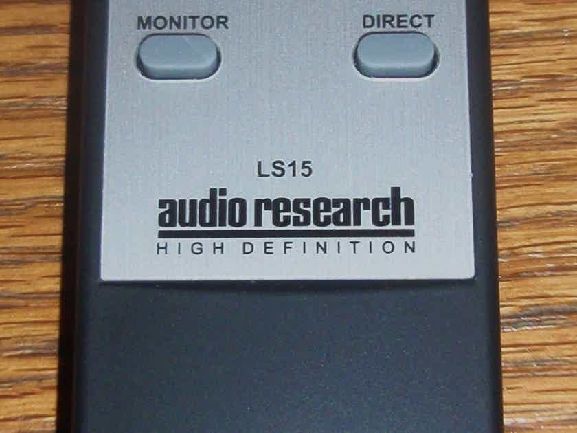 Audio Research LS15 Remote