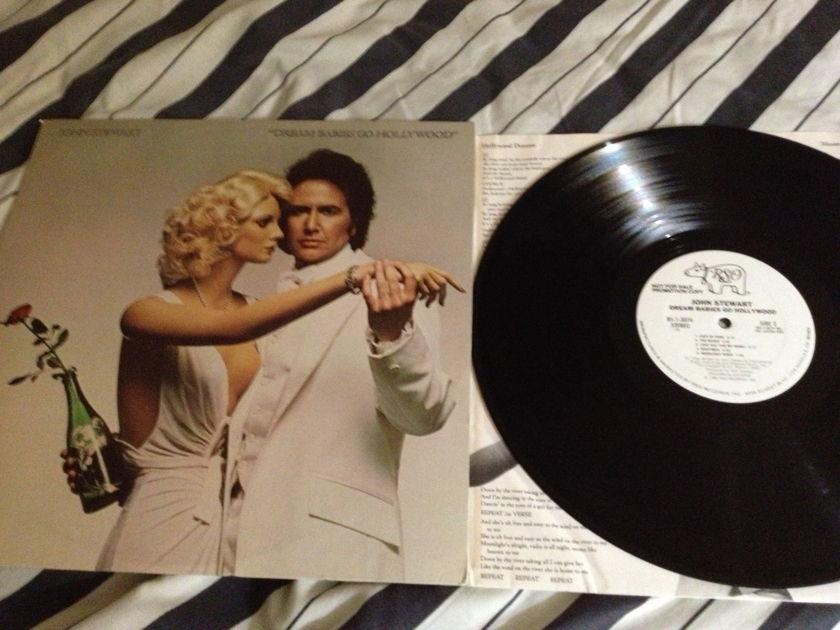 John Stewart - Dream Babies Go Hollywood White Label Promo LP NM