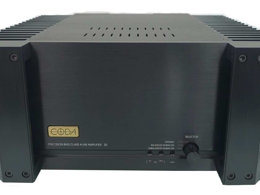CODA AMPLIFIER 20 (Black): Excellent Trade-In; w/Warranty; 67% Off