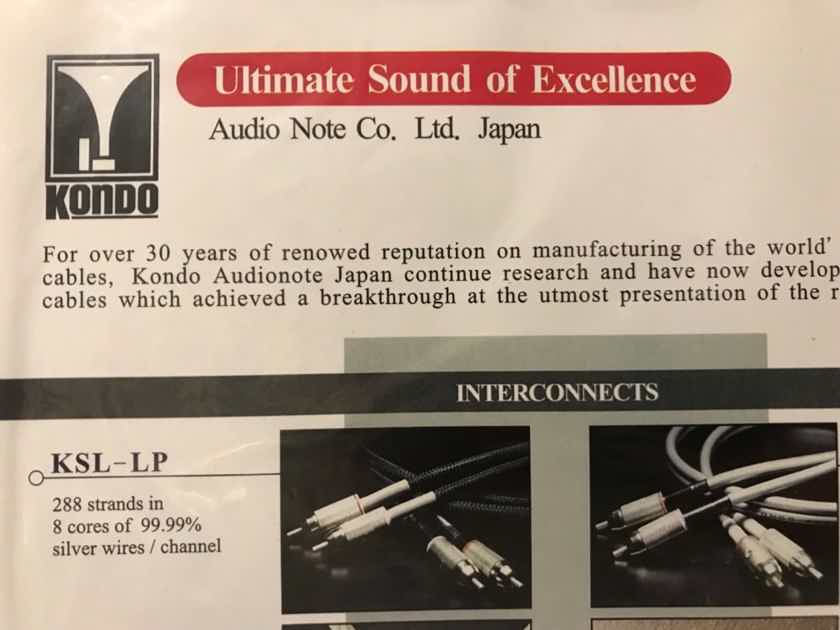 Kondo AudioNote Japan ksl-LP