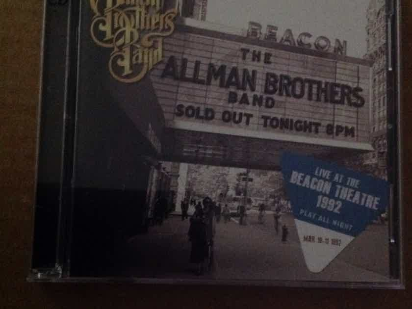 Allman Brothers Band - Play All Night Live At The Beacon Theatre 1992 2 Compact Disc Set Epic Legacy Records