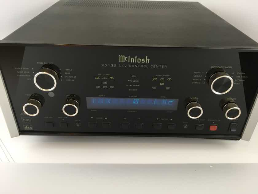 McIntosh MX-132 AV Processor for Music Lovers, Complete including Tuner