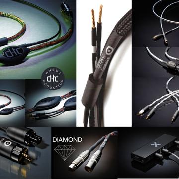 Ansuz Acoustics Inventory sale: DTC- Phono Cable 1.25 R...