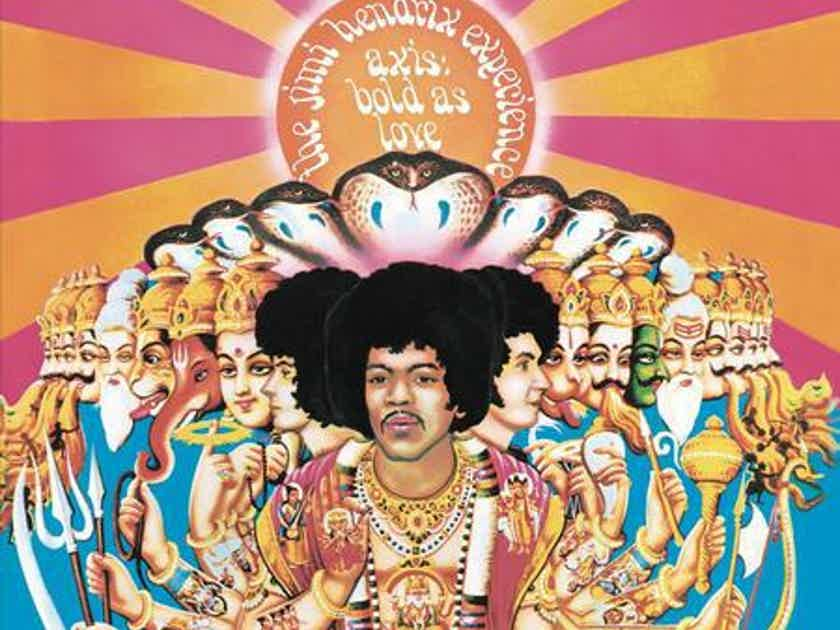 The Jimi Hendrix Experience AXIS: Bad As Love/Mono