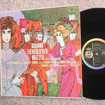 Brahms Liebeslieder Waltzes lp record Elsie Morisin Marjorie Thomas Richard Lewis