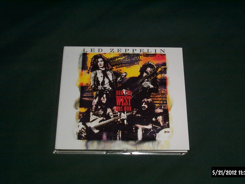 Led Zeppelin - How The West Was Won 3 CD Set NM