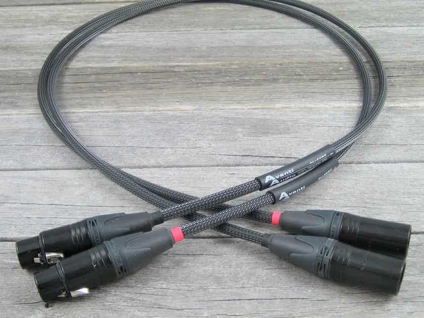 Avanti Audio Allegro Interconnects - 4.0M Analog Balanced XLR Pair