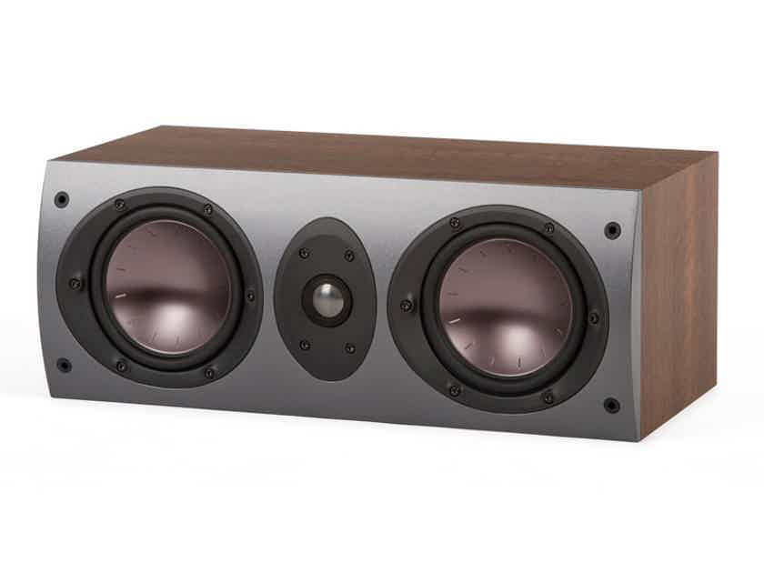 Mordaunt Short Aviano 5 Center Speaker (Dark Walnut) - NEW-In-Box; Full Warranty; 67% Off