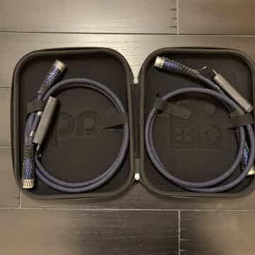 XLR 2 meter pair