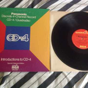 Various - Panasonic Discrete 4- Channel Record CD-4/Qua...