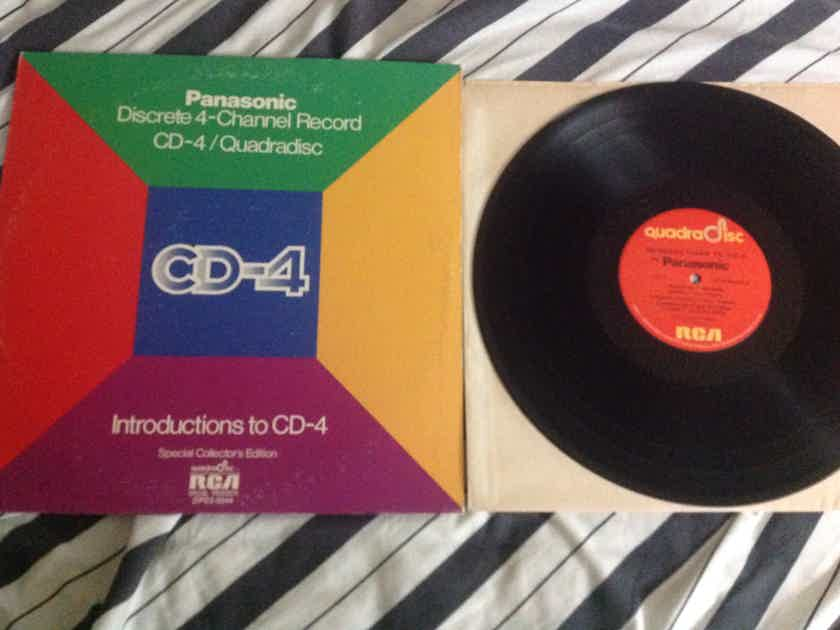 Various - Panasonic Discrete 4- Channel Record CD-4/Quad Introductions To CD-4 Special Collector's Edition 2LP NM