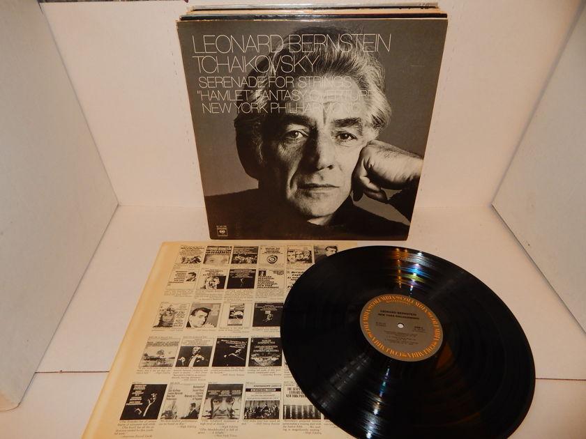 LEONARD BERNSTEIN TCHAIKOVSKY - Serenade For Strings Hamlet New York Philharmonic M 34128 LP NM