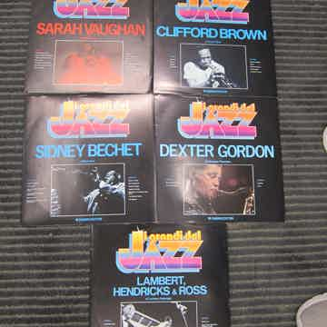 5 RCA Italian Quality Jazz Records, Inserts, Pictures,...