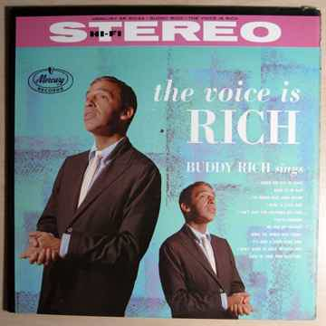 Buddy Rich - The Voice Is Rich - 1959 Mercury SR 60144