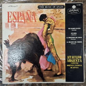 Ataulfo Argenta Conducting Orquesta Nacional De Espana España Vol. 1