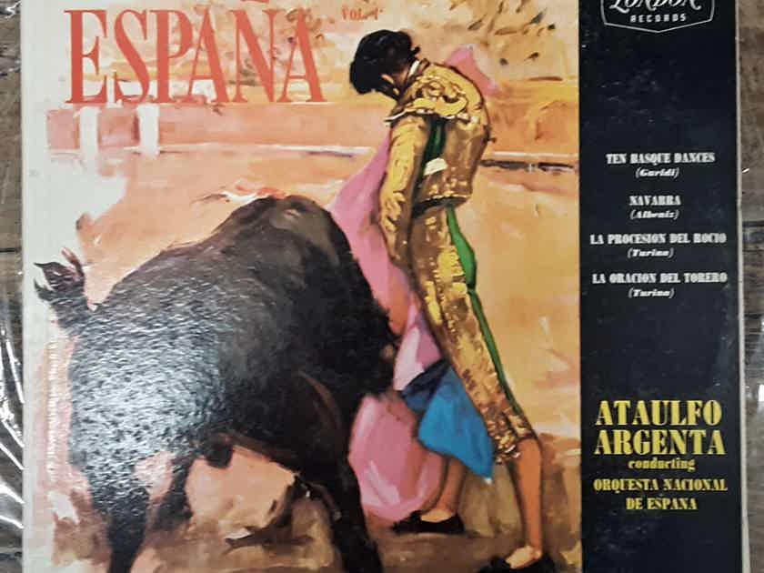 Ataulfo Argenta Conducting Orquesta Nacional De Espana - España Vol. 1  Vinyl LP UK Import London Records LL-1585
