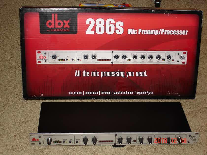 DBX 286S Mic Preamp/Processor