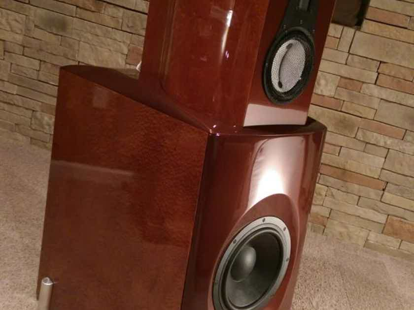 VAPOR AUDIO JOULE WHITE Speakers PRICE FALLS TIL SOLD!