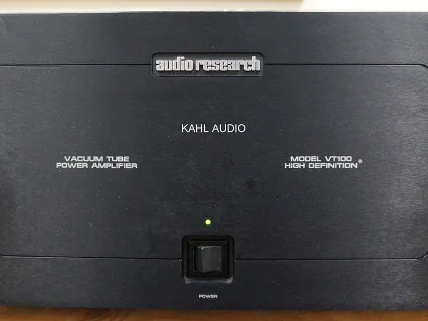 Audio Research VT-100 mkIII  tube stereo amp. Many positive reviews! $6,500 MSRP