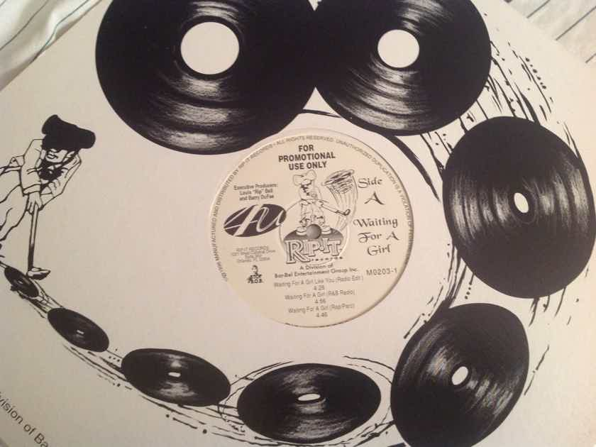 4U Waiting For A Girl Like You Rip It Records 12 Inch Promo