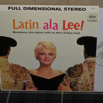 Peggy Lee  - Latin a la Lee S&P 180g from 2003. Ltd. Ed...