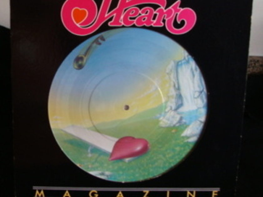 Heart - Magazine Picture Disc Numbered Limited Edition Lp Near Mint
