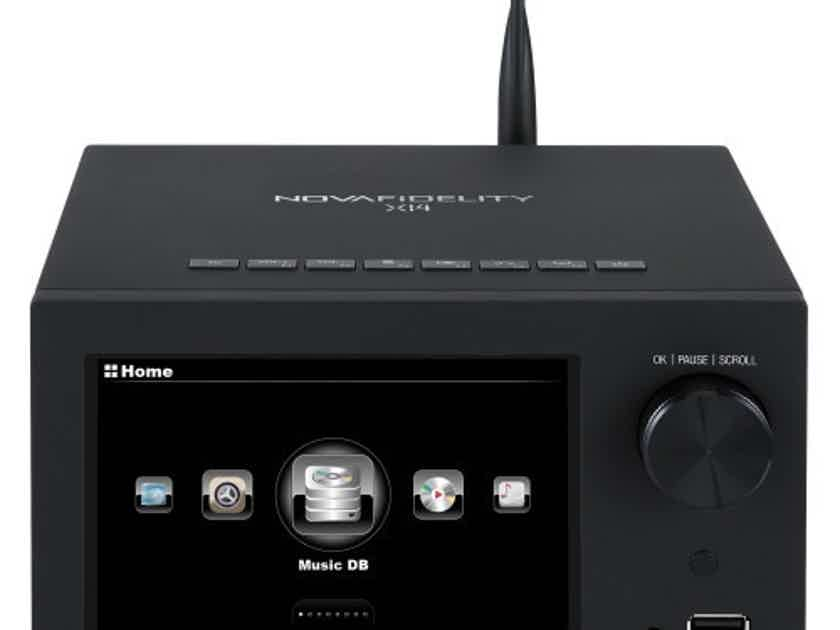 Cocktail Audio X14 Stereo Integrated Amplifier / Network Streamer; X-14 (New) (16432)