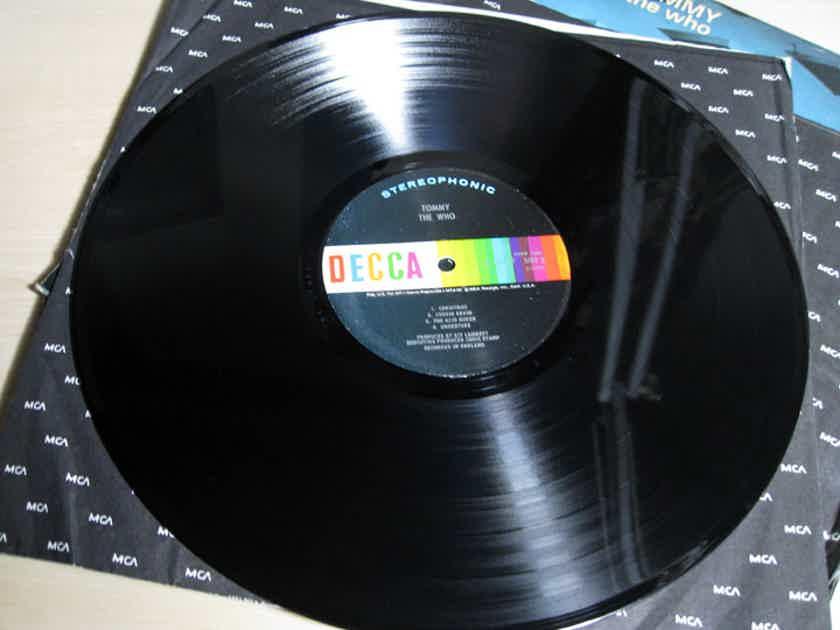 The Who - Tommy - Original Pressing - 1969 Decca Records DXSW 7205
