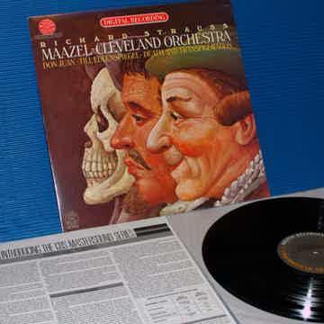 """STRAUSS / Maazel  - """"Don Juan / Til Eulenspiegel"""" CBS M..."""