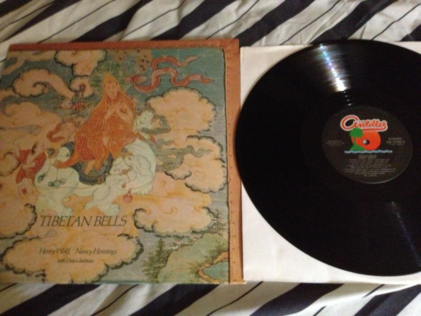 Henry Wolff - Tibetan Bells LP  NM Antilles Label