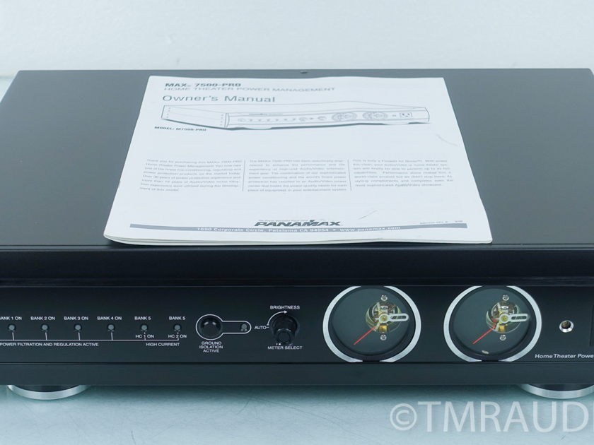 Panamax MAX 7500-PRO Home Theater Line Conditioner (9072)