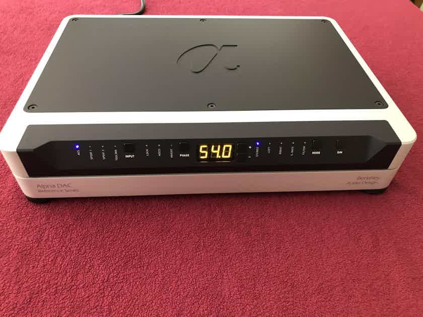 Berkeley Alpha DAC Reference Series 2 MQA with Free Shipping in CONUSA