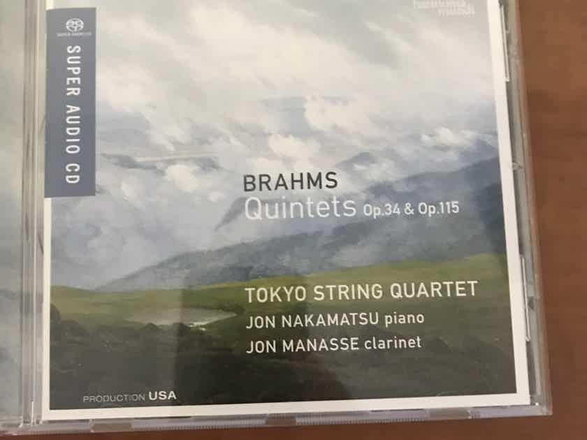 Tokyo String Quartet Brahms: Piano Quintet, Clarinet Quintet