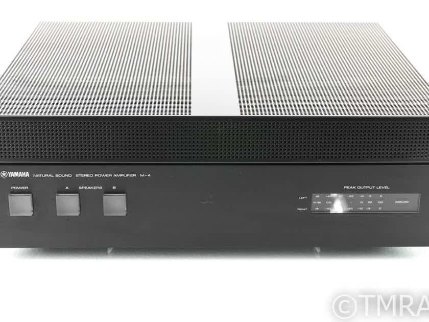 Yamaha M-4 Vintage Stereo Power Amplifier; M4 (24239)