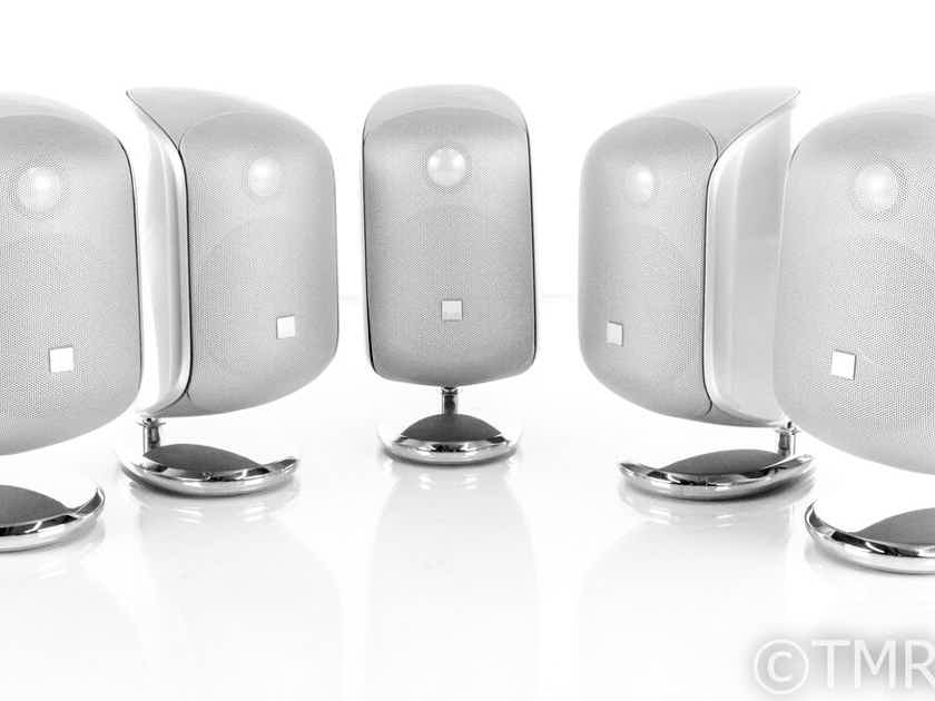 B&W M-1 On-Wall / Surround Speaker System; Set of 5 w/ FS-M-1 Stands (21257)