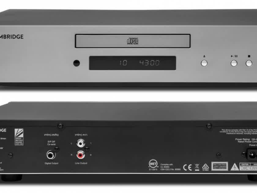 Cambridge AXC35 CD Player (Lunar Grey): NEW-in-Box; Full Warranty; 30% Off