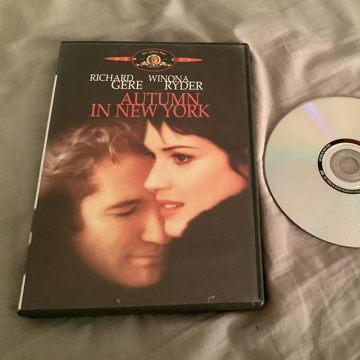 Richard Gere Winona Ryder Standard/Widescreen  Autumn In New York