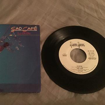Sad Cafe Swan Song Records Promo 45 With Picture Sleeve  La-Di-Da