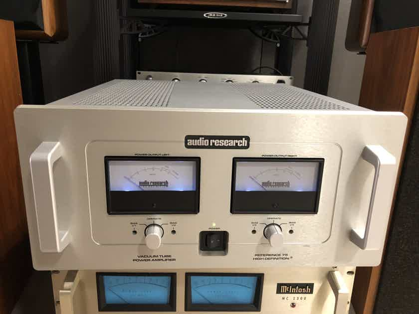 Audio Research Reference 75 Excellent Condition with new matched KT120 tubes